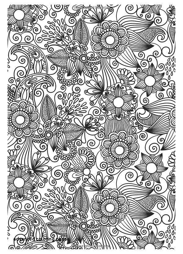 20 Awesome Free Printable Coloring Pages for Adults Advanced