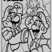 Coloring Pages Mario Awesome 14 Awesome Up Coloring Page Kanta
