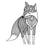 Coloring Pages Of Animals for Adults Creative √ Animal Coloring Books for Adults or Fox Coloring Pages Elegant