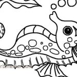 Coloring Pages Of Animals for Adults Pretty Sea Animals Coloring Pages Awesome Beautiful Printable Ocean Animals