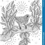 Coloring Pages Of Birds and Flowers Creative Red Billed Fincher Bird Coloring Page Stock Illustration