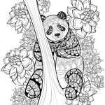Coloring Pages Of Birds and Flowers Elegant Coloring Animal Coloring Pages Panda Coloringstar Sheets Zen Book