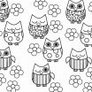 Coloring Pages Of Birds and Flowers Excellent Fresh Owl with Flowers Coloring Pages – Howtobeaweso