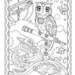Coloring Pages Of Birds and Flowers Inspiration More Than 30 Fanciful Full Page Illustrations Depict the Wisest Of