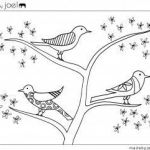 Coloring Pages Of Birds and Flowers Marvelous Made by Joel Free Coloring Sheets
