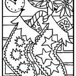 Coloring Pages Of Christmas Trees Best Of Free Xmas Coloring Pages Printable