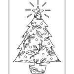 Coloring Pages Of Christmas Trees Best Of White Pine Tree Coloring Page Elegant Xmas Tree Wallpaper by S 0d
