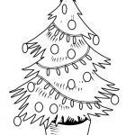 Coloring Pages Of Christmas Trees Fresh Christmas Tree Coloring Page Free Lovely Luxury Beautiful Animal