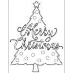 Coloring Pages Of Christmas Trees Fresh Full Size Christmas Tree Coloring Pages Unique Christmas Tree Cut