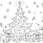Coloring Pages Of Christmas Trees Inspirational Coloring Pages for Kids Tree Worksheets Preschool Free the Christmas