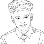 Coloring Pages People Inspirational Louis tomlinson Coloring Page Coloring Page Famous People