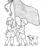 Coloring Pages Print Inspirational United States Flag Coloring Pages Printable