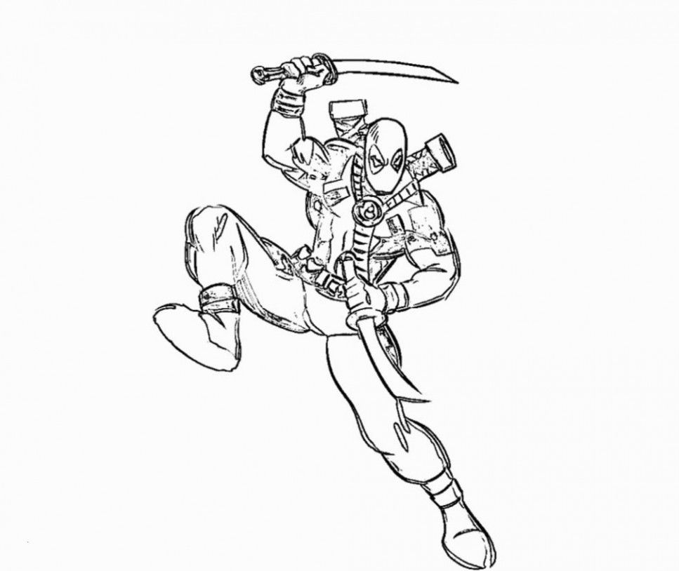 Coloring Pages Printable Pretty Deadpool Coloring Pages New Deadpool Coloring Fresh Coloring Pages