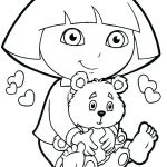 Coloring Pages Shimmer and Shine Awesome Dora Explorer Coloring Pages – Contentpark