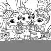 Coloring Pages Shimmer and Shine Best Coloring Pages Shimmer and Shine Coloring Pages for Children