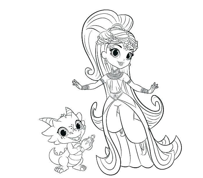 Coloring Pages Shimmer and Shine Creative Coloring Pages Printable Free – Ahmadsalehifo