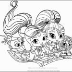 Coloring Pages Shimmer and Shine Creative Shimmer and Shine Coloring Pages Awesome Fluing Genies Shimmer and