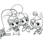 Coloring Pages Shimmer and Shine Pretty asapcontractingusa Page 127 Pokemon Pikachu Coloring Pages