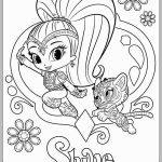 Coloring Pages Shimmer and Shine Wonderful Shimmer and Shine Coloring Pages Awesome Fluing Genies Shimmer and