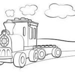 Coloring Pages Trains Inspirational Lego Duplo Train Coloring Page Coloring Pages Boys