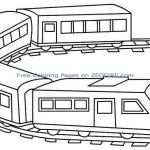 Coloring Pages Trains New Thomas the Train Outline