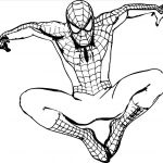 Coloring Pages Wolf Best A Easy Drawing A Wolf Superheroes Easy to Draw Spiderman Coloring