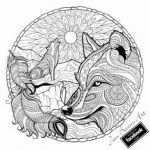 Coloring Pages Wolf Marvelous Fresh Fox and Wolf Coloring Pages – Howtobeaweso