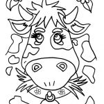 Coloring Pictures Online Excellent Go Green and Color Online This Cow Coloring Page Cute and Amazing