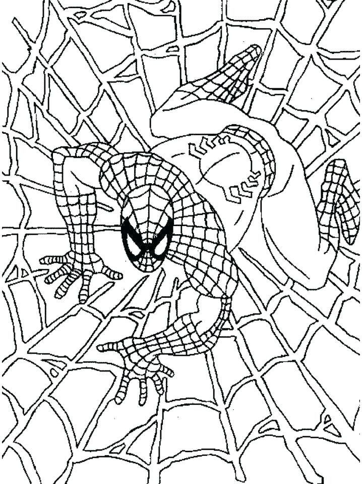 Coloring Sheets Online Creative Spider Man Printing Coloring Pages – Fun Time