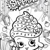 Coloring Shopkins Pages Awesome January 2018