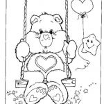 Coloring Teddy Bear Beautiful New Bear with Balloons Coloring Pages – Fym