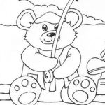 Coloring Teddy Bear Best 71 Teddy Bear Coloring Pages Free Printable Aias