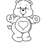 Coloring Teddy Bear Brilliant Que Care Bears Coloring Pages – Waggapoultryub