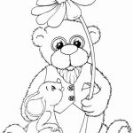 Coloring Teddy Bear Marvelous Unique Teddy Bear Ballerina Coloring Pages – Howtobeaweso