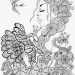 Coloring Worksheets for Adults Creative Sing Coloring Pages