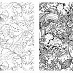 Colouring Patterns for Adults Inspired Adult Coloring Book Flowers Awesome Collection Coloring Pages for
