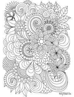 324 Best Coloring Pages for Adults images in 2018