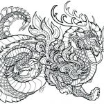 Complex Coloring Pages for Adults Best Of Dragon Coloring Pages for Adults Best Coloring Pages for Kids