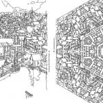 Complex Coloring Pages for Adults Fresh Fantastic Cities — A Coloring Book for Adults — tools and toys