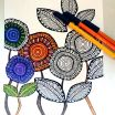 Complex Coloring Pages for Adults Fresh Pattern Colouring Pages to Print at Getdrawings