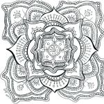 Complex Coloring Pages for Adults New Adult Color Page