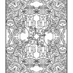 Complex Coloring Pages for Adults Unique Coloring Books for Grownups Cat Whimsy Mandalas & Geometric Shapes