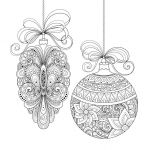 Complex Coloring Pages for Adults Unique Coloring Christmas Coloring Sheets Picture Ideas ornament Pages for