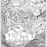 Complex Coloring Pages for Adults Unique Creative Haven Insanely Intricate Entangled Landscapes Coloring Book
