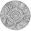 Complex Coloring Pages for Adults Unique soothing and Calming Mandala Difficult Mandalas for Adults 100