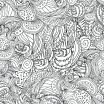 Complicated Coloring Pages Elegant Printable Doodle Coloring Pages – Johnrozumart