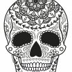 Cool Skull Coloring Pages Awesome Coloring Ideas 60 Fantastic Sugar Skull Coloring Pages for Kids