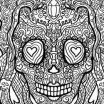 Cool Skull Coloring Pages Inspirational Skull Printable Coloring Pages Cool Coloring Page for Adult
