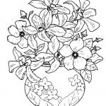 Courage Coloring Page Inspiration Elegant Flower In Vase Coloring Pages – Doiteasy