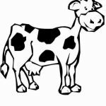 Cow Print Stencil Inspiration 19 Beautiful Cow Coloring Page
